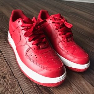 Low Top Valentines Day Nike Air Force One